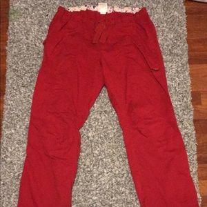 52f15d2831415 Other - Koi Lindsey scrub pants medium tall red